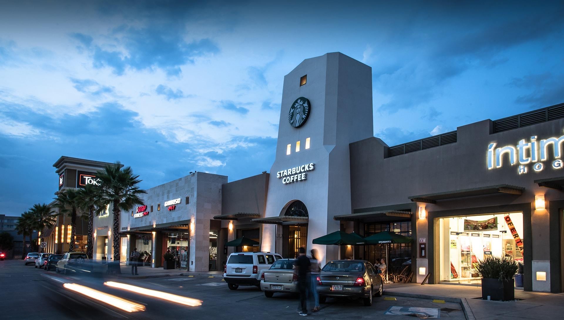 Plaza Palmas Aguascalientes proyecto diseñado por grupo link desarrollo inmobiliario